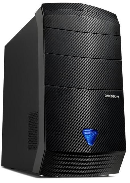 Unité Centrale Medion Akoya P5325I (i5-6400, 8 Go Ram, 2 To HDD + 8 Go SSD, GTX 750 Ti, Windows 10) (via ODR 200€)