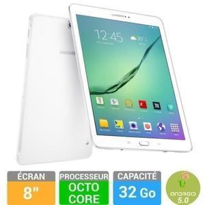 """Tablette 8""""  Samsung Galaxy Tab S2 32 Go Blanche SM-T710NZW"""