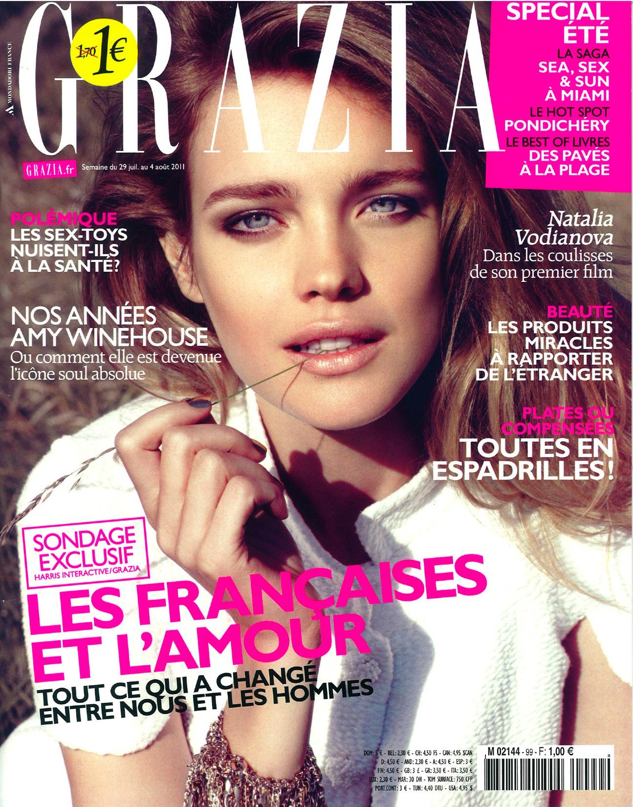 13 numéros Grazia gratuits