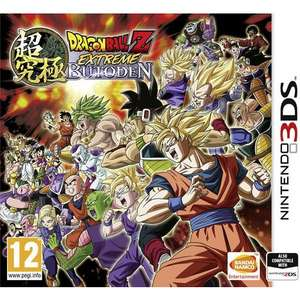 Dragon Ball Z : Extreme Butoden sur 3DS