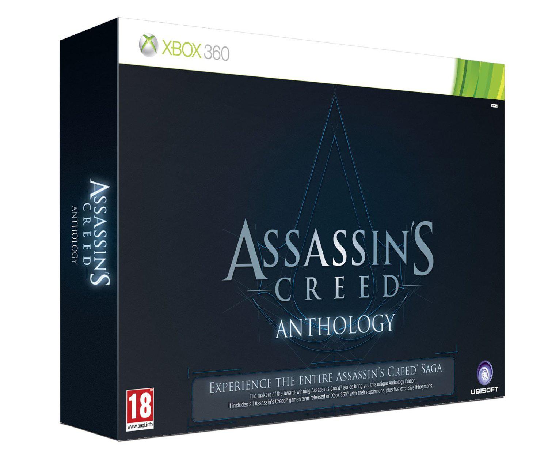 Assassin's Creed Anthology (Coffret avec les 5 jeux) sur XBOX 360