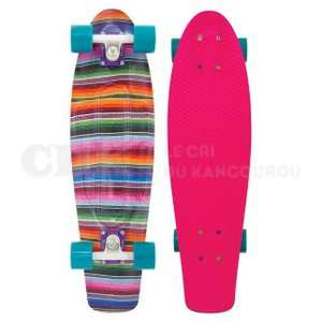 "Skateboard 27"" Penny Skate Complet Cruiser - Nickel Baja Pink"