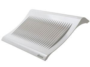 """Système de refroidissement AKASA blanc pour ordinateur portable 15.4"""""""