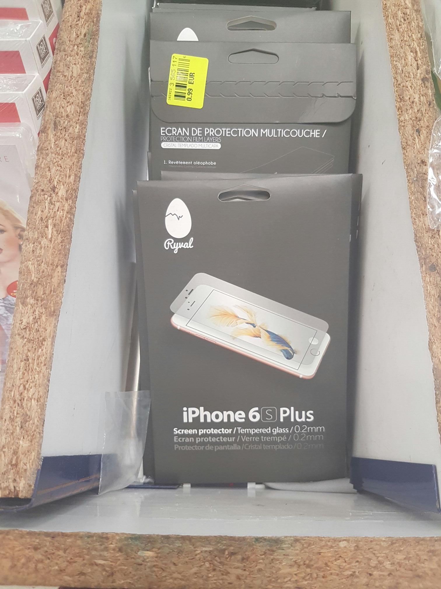 Verre trempé Ryval pour iPhone 6/6s - 0.2mm