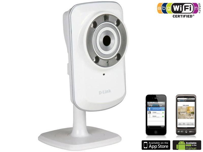 Caméra de sécurité IP Wireless N Jour et Nuit D-LINK DCS-932L - Via Buyster à 39.99€, sinon