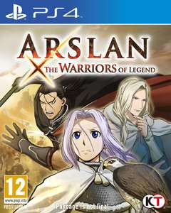Arslan the Warrior of Legends sur PS4