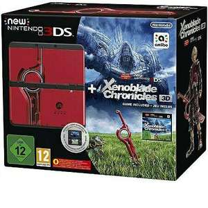 Pack console New Nintendo 3DS noire, coque Xenoblade et Xenoblade Chronicles (3DS)