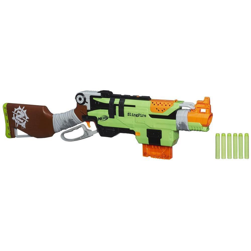 Pistolet Nerf Zombie Slingfire (avec ODR 50%)