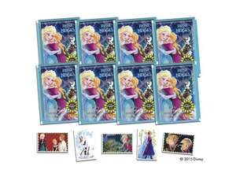 40 Stickers Disney La Reine des Neiges - Deux Sœurs pour la vie