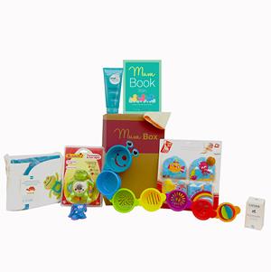 MumBox - Une Box pour les mamans et futures mamans avec 160 euros de produits