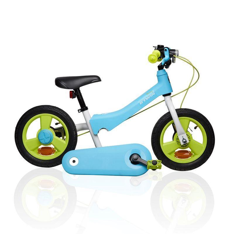 "Draisienne évolutive en vélo 12"" B'Twin Woony 500 Bleu"