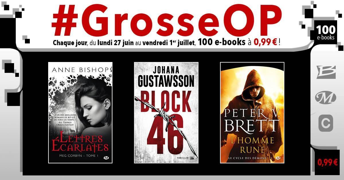 Sélection d'Ebooks éditions Bragelonne