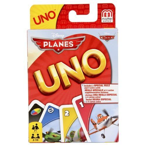 Jeu de société Uno édition Disney planes
