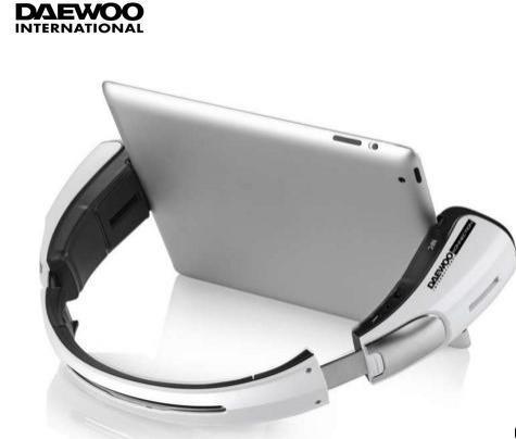 Enceinte bluetooth Daewoo DBTS-1011B coloris blanc ou noir