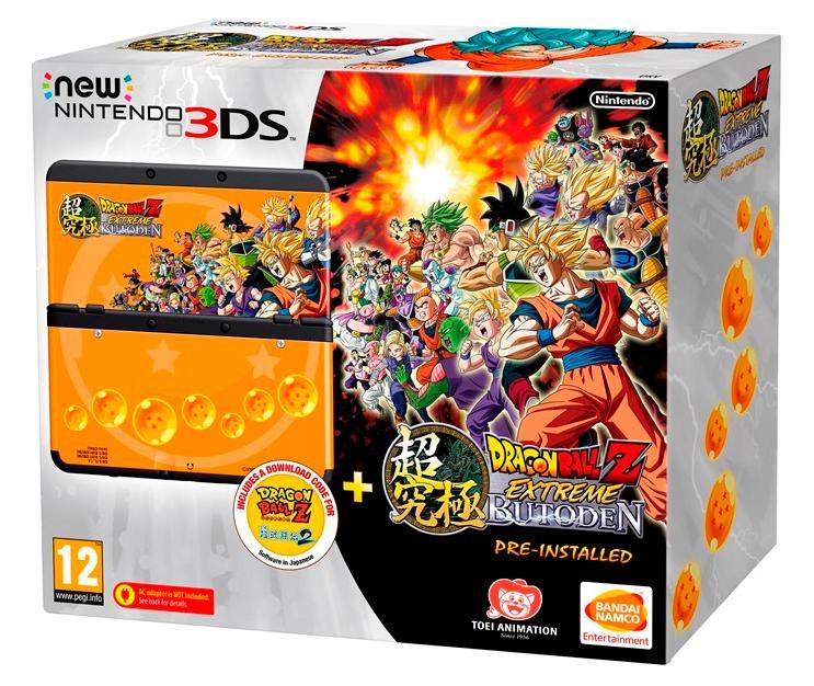 Sélection de consoles New Nintendo 3DS - Ex : pack Dragon Ball Z : Extreme Butôden