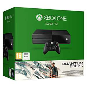 Pack console Microsoft Xbox One (500 Go) - Quantum Break