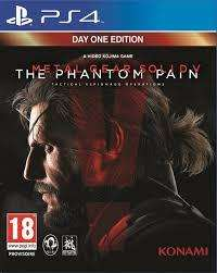 Jeu Metal Gear Solid V - The Phantom Pain sur PS4 - Day One Edition