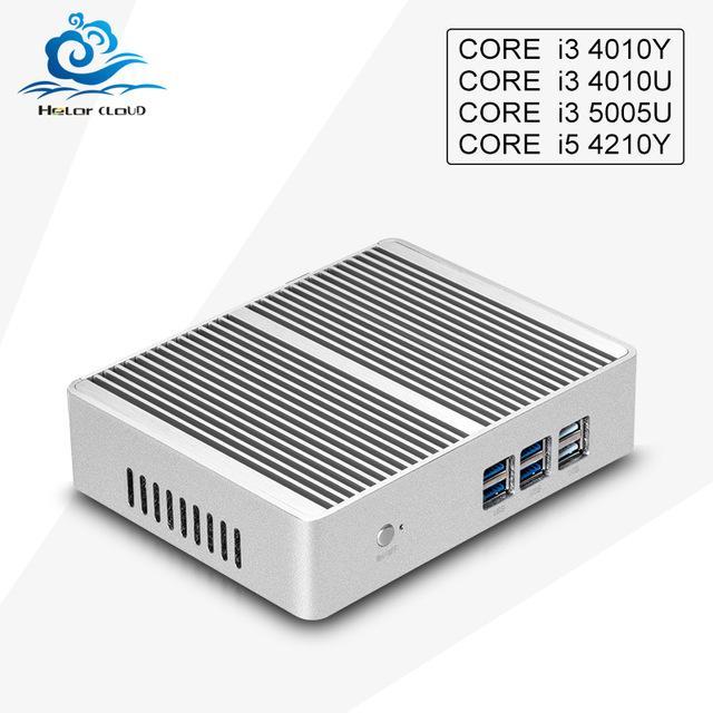 Boîtier mini pc + intel core i3 4010Y (4 ports USB 3.0 + 2 ports USB 2.0)