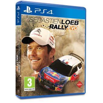 Sebastien Loeb Rally Evo  sur PS4