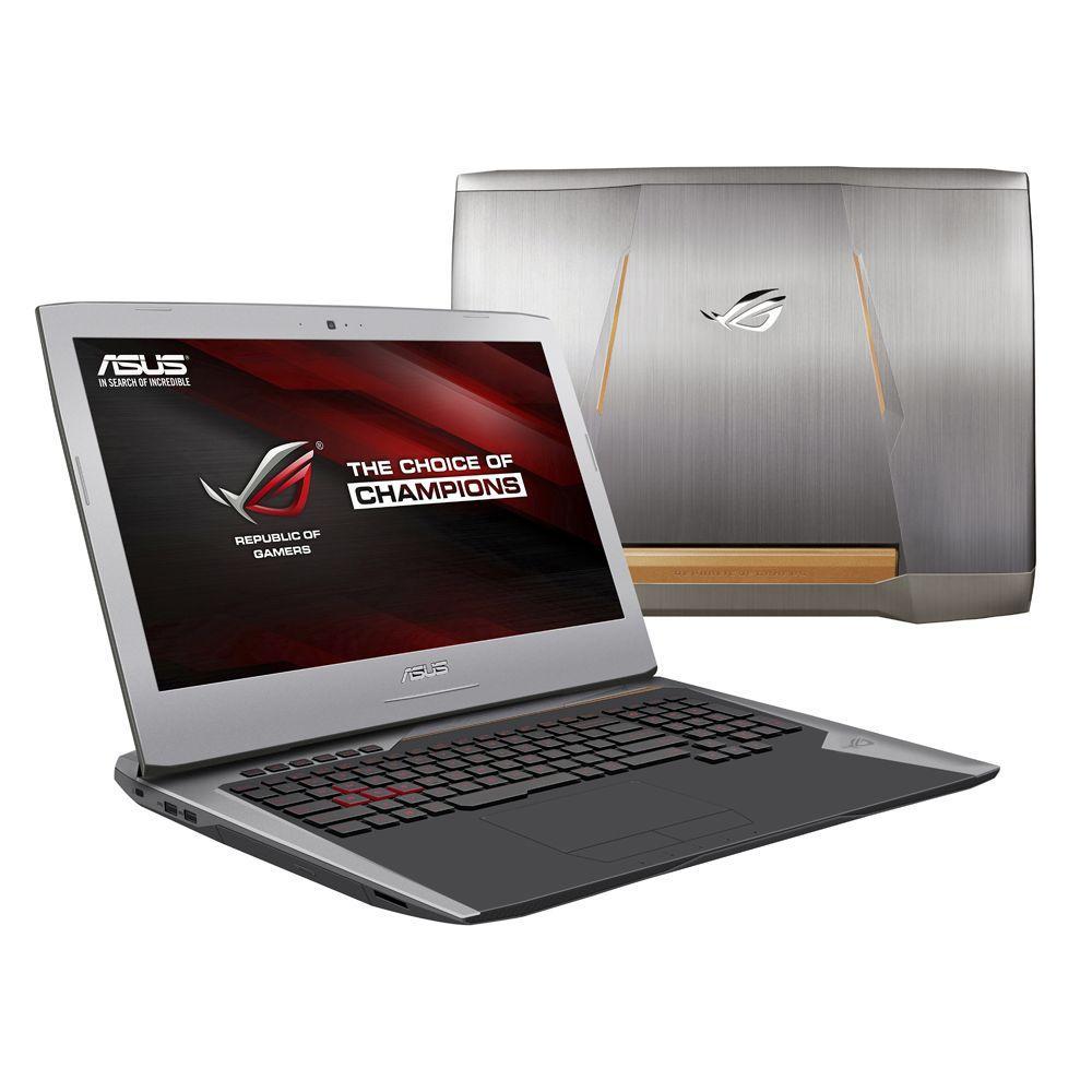 """Sélection de PC portables Asus ROG en soldes - Ex : 17.3"""" full HD G752VY-GC081T (i7-6700HQ, GTX 980M, 16 Go de RAM, 1 To + 256 Go en SSD)"""