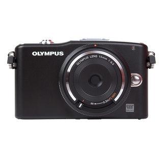 Appareil photo hybride Olympus Pen E-PM1 + Objectif Pancake 15mm F8.0