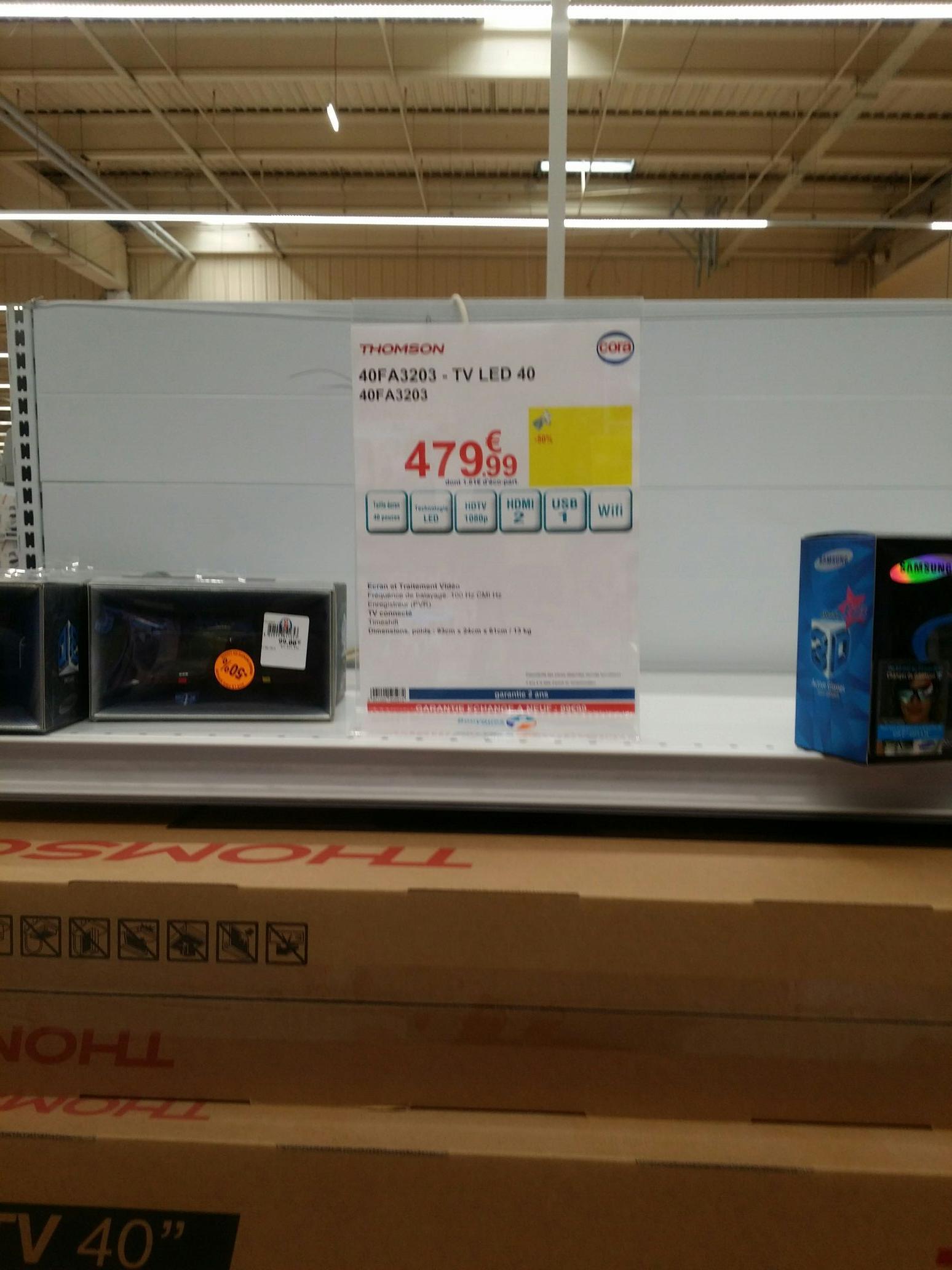 """TV 40"""" Thomson 40FA3203 - Full HD"""