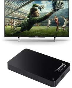 "TV LED 43"" Sony KDL-43WD755 - Full HD, Smart TV + Disque dur externe USB 3.0 Intenso 1 To"