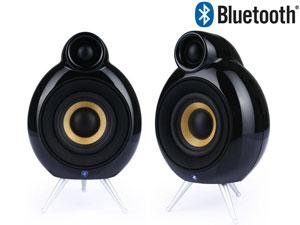 Paire d'Enceintes Compactes Sans Fil MicroPod SE Bluetooth 2 Voies - 2x20W noir ou blanc