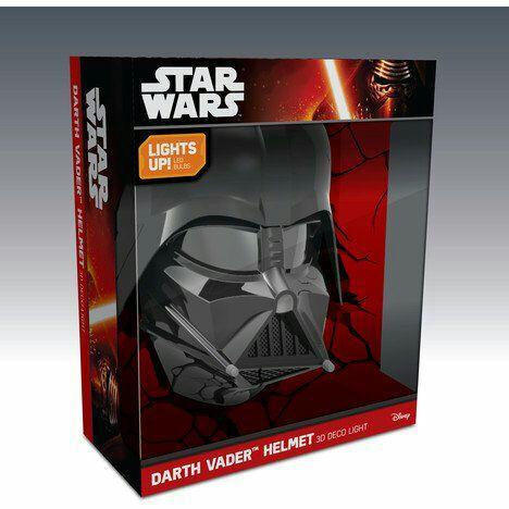 50% de réduction sur toutes les lampes veilleuses 3D Star Wars - Ex : Lampe 3D décorative Dark Vador