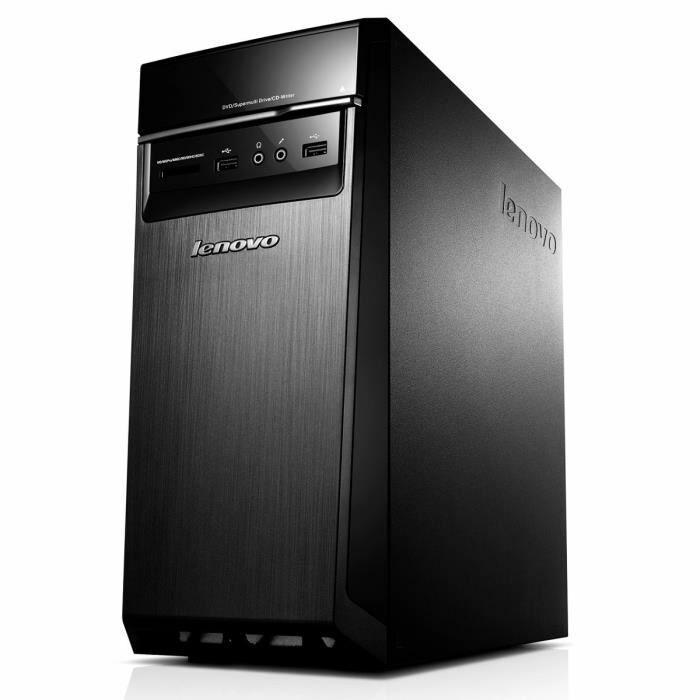 PC de bureau Lenovo H50-50 (i3-4160, 4 Go RAM, 1 To HDD, GT 705, Windows 10)