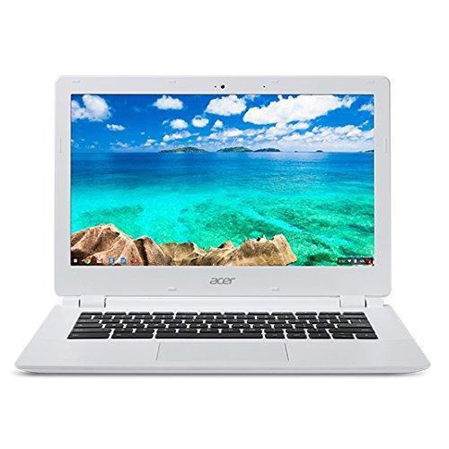 """Acer Chromebook CB5-311-T8BT 13,3"""" Blanc (Nvidia Tegra K1, 4 Go de RAM, Disque Dur SSD 32 Go, Chrome OS)"""