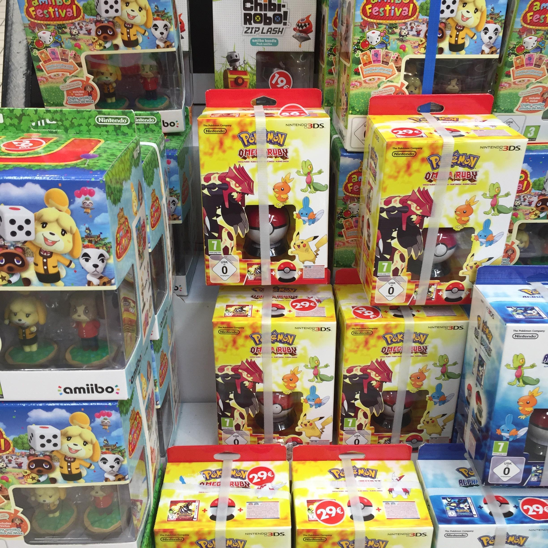 Selection de jeux en promo - Ex : Pokemon saphir alpha collector