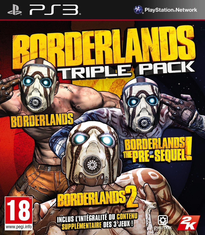 Borderlands - Triple Pack sur PS3