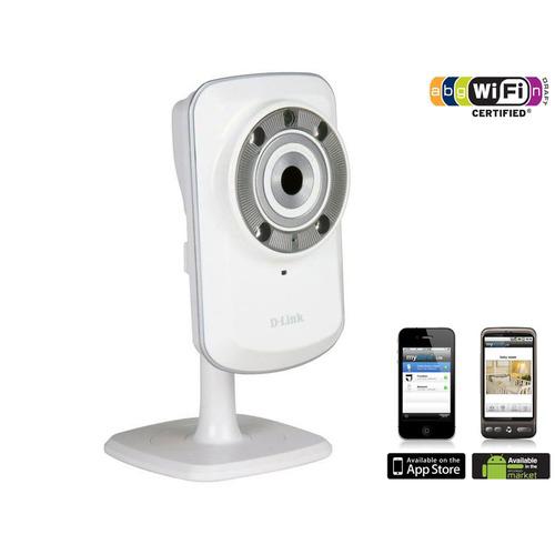 Caméra de sécurité IP Wireless N Jour et Nuit D-LINK DCS-932L - Reconditionné