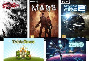 Jeux PC CAG Bundle (Mars: War Logs, Strike Suit Zero...)