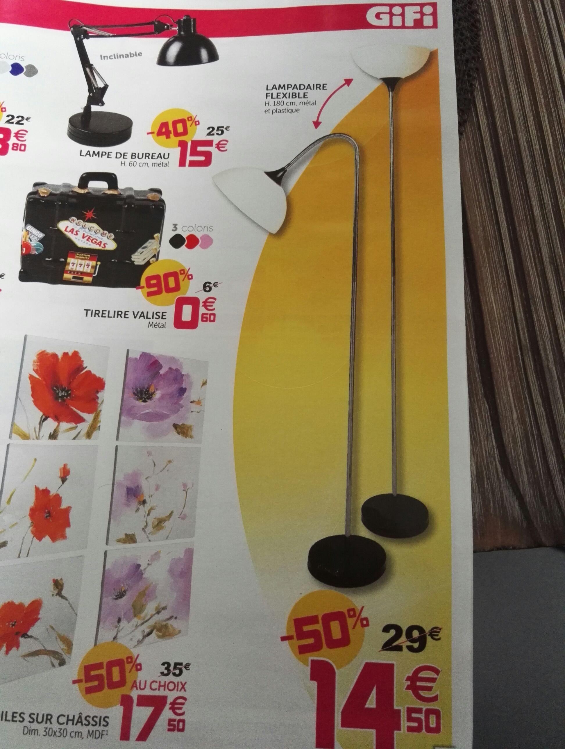 Lampadaire flexible (Hauteur 180cm)