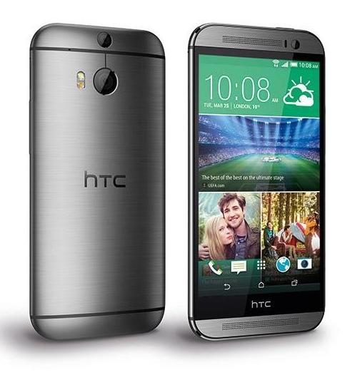"Smartphone 5"" HTC One M8 - 4G, Snapdragon 801, 16Go"