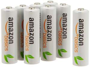 Lot de 8 piles rechargeables Ni-MH Type AA 1000 cycles, 2000 mAh
