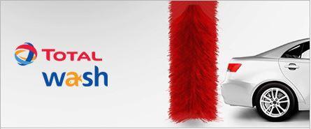 Carte lavage Total Wash (avec un crédit de 40€)