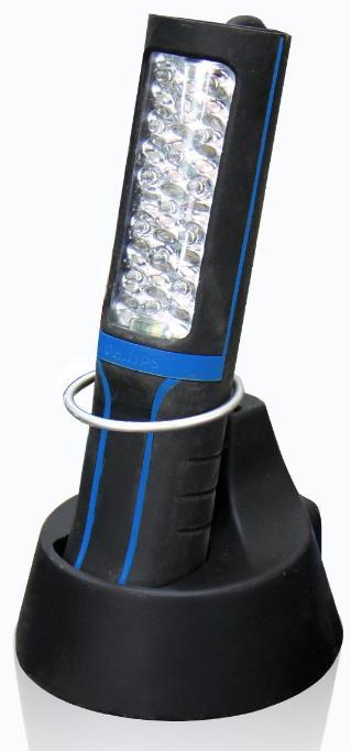Lampe d'inspection à LED rechargeable avec station d'accueil Philips 22001UVX1