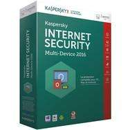 Sélection d'Antivirus Kaspersky  en promo - Ex  : Kaspersky Internet Security 2016 3 postes