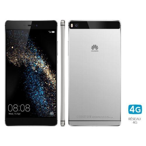 Smartphone 5.2'' Huawei P8 - 16 Go, blanc ou gris (via ODR de 70€)