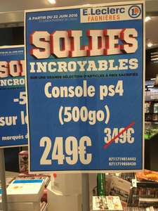 Console Sony PS4 - 500 Go