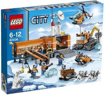 Jouet Lego City - Le camp de base arctique (60036)