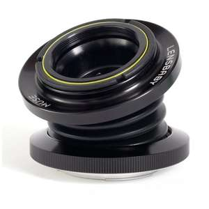 Objectif LensBaby Muse Double Glass monture Canon