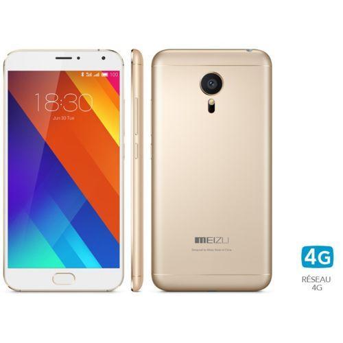 """Smarpthone 5.1"""" Meizu MX5 - 32 Go, gris"""