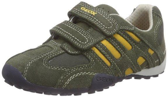 Chaussures basses pour enfant Geox JR Snake Boy B (différentes tailles, vert)