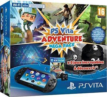 Sélection de packs PS Vita en promotion - Ex : PS Vita Slim (Wi-Fi) + Adventure MegaPack + carte mémoire de 8 Go