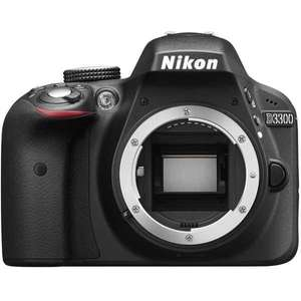 Appareil photo reflex Nikon D3300 - Boitier Nu (via ODR de 50€)