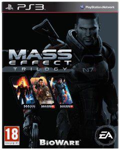 Mass Effect Trilogy sur PS3 [import italien]